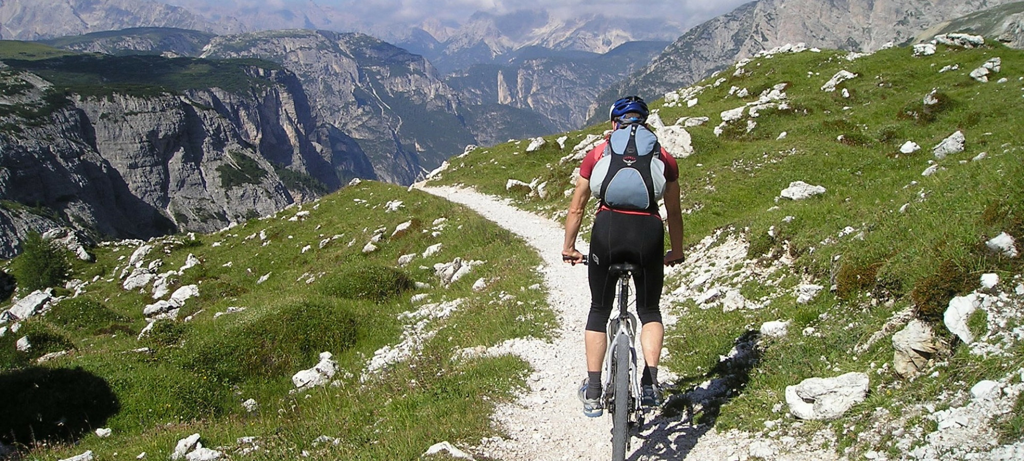 Mountain biking Ben Nevis